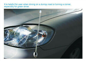 Aluminum Car Antenna Vehicle Elasticity Bumper Corner Pole Safety Position Pole