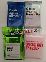 Cards Against Humanity CAH GAY PRIDE WEED PERIOD JEW Expansion Packs