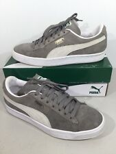 90247b444633 PUMA Suede Classic+ Men s Size 7 Steeple Gray White Suede Shoes X15-307