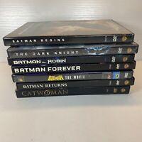 Lot Of 7 Batman DVDs-Begins, Forever, And Robin MORE D4