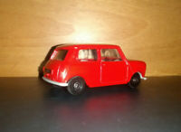 Corgi Mini. Reg Min 1 Vintage 1/64 Corgi Junior size Unboxed Red
