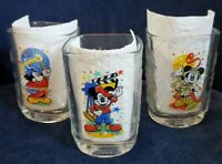 McDonald's Walt Disney Mickey Mouse Set of 3 of 4 2000 Studios Epcot An. Kingdom