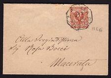 Postal History Kingdom 1903 Letter to prints from Villa Power Macerata (filq)