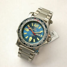 Gents Reactor 45mm Blue Never Dark Dial SS 200m Proton WT Watch # 91603