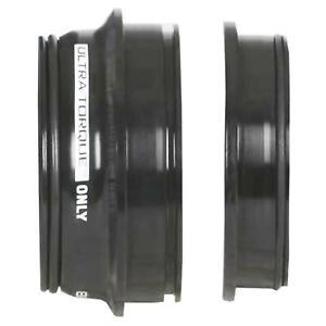 Ultra Torque Integrated Black Bottom Bracket Cups - RIGHT
