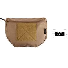 Tactical Military Airsoft Molle Waist Bag Magazine Drop Dump Pouches Combat Gear