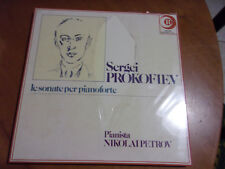 PROKOFIEV SONATE PER PIANOFORTE NIKOLAI PETROV RICORDI STEEL SEALED