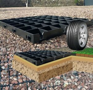 GRAVEL DRIVEWAY PLASTIC GRIDS ECODRIVE ECO PARKING GRID ECO GRAVEL GRID BASE MAT