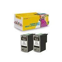 2Pack Compatible PG-40 Black Ink For Canon Pixma MP140 Pixma MP150 Pixma MP160