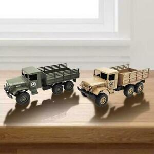 Small Simulation 1/64 WPL MB14 Military Truck Model Vehicle Kids Alloy Gift K2B7
