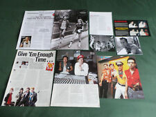 """THE CLASH / JOE STRUMMER  "" -   PUNK BAND   -   CLIPPINGS /CUTTINGS"