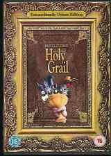 MONTY PYTHON AND THE HOLY GRAIL EXTRAORDINARILY DELUXE EDITION GENUINE R2 DVD VG