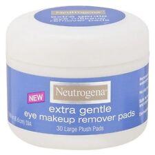 2 X Neutrogena Extra Gentle Eye Make up Remover 30 Pads (x 2)