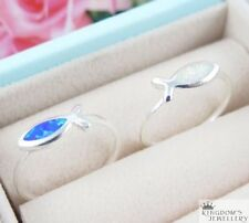 Simulated Opal Fashion Rings