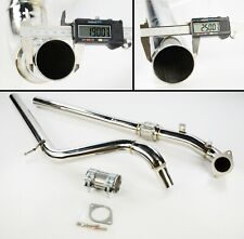 """Fiat 500 Abarth 1.4T 08+ Stainless Steel Exhaust Centre Pipe Downpipe 2.5"""""""