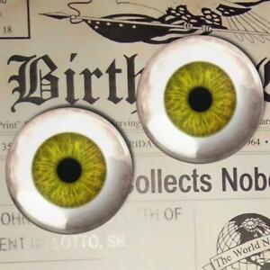 Pea Gree Glass Eyes Human Doll Taxidermy Craft Eyeball Set - 73