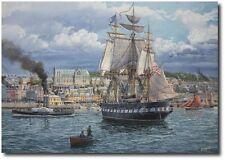 """The Good Ship Constellation"" by Tom Freeman - Irish Famine of 1880 - Marine Art"