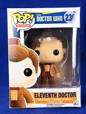 Funko Pop! Figure Television Doctor Who #236 Eleventh 11th Doctor Fez and Mop