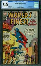 World's Finest Comics 119 CGC 5.0 -- 1961 - Superman Batman Tigerman #1997616025