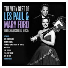 LES PAUL & MARY FORD - THE VERY BEST OF 60 ORIGINAL RECORDINGS NEW  2CD Digipak