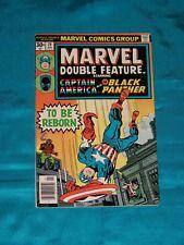 MARVEL DOUBLE FEATURE # 20, Jan. 1977, CAPTAIN AMERICA! FINE PLUS CONDITION