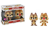 Disney - Chip & Dale Flocked Pop! Vinyl 2-Pack - SDCC 2017(RS)