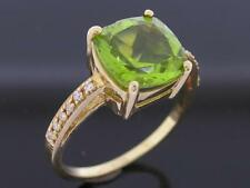 Solitaire with Accents Yellow Gold 18k Fine Rings