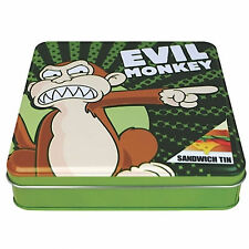 Family Guy OFFICIAL Evil Monkey Storage Tin Peter Griffin Stewie Brian