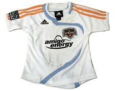 adidas Infant MLS Houston Dynamo Soccer Jersey Look 12, 18, 24 Months