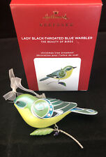 2020 Hallmark Limited Edition Lady Black Throated Blue Warbler Sh3251