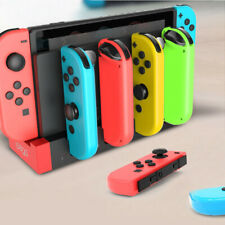 4 in1 Charger Charging Station for Nintendo Switch NS Console Joy-Con Controller