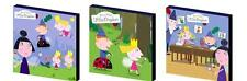 BEN AND HOLLY'S LITTLE KINGDOM - CANVAS ART BLOCKS/ WALL ART PLAQUES/PICTURES