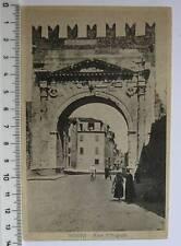 cartolina Emilia Romagna - Rimini Arco augusto -RN 352