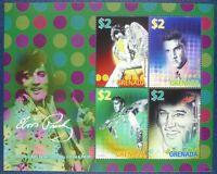 Grenada 2008 Elvis Presley Musik Sänger Music Singer 6074-77 Postfrisch MNH
