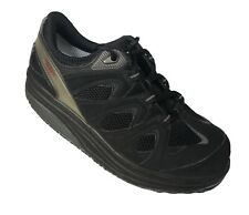 MBT Black Walking Toning Athletic Shoes Women Size 8 Eu 38 400167-03 Rocker Sole