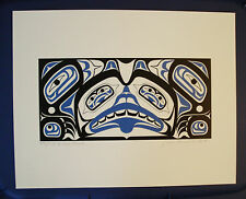 NORTHWEST COAST NATIVE ART HAIDA Bear Chest Ltd Edition print signed