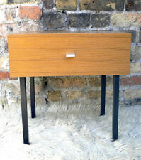Wood Veneer Rectangle Vintage/Retro Side & End Tables