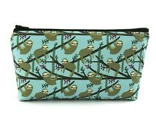 Lazy Sloth Cosmetic Bag, Zip Pouch, Makeup Bag, Pencil Case, Fun Travel Bag
