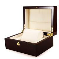 Lovely watch box, breitling, rolex, omega, tag heuer. luxury box / case.