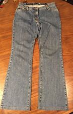 Women GF Gianfranco Ferre Made In Italy Flare Jeans Tag Sz 31 Meas 30x31 EUC!!