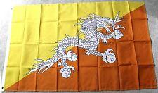 BHUTAN INTERNATIONAL COUNTRY POLYESTER FLAG 3 X 5 FEET