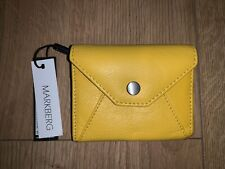 MarkBerg Venice Wallet Cow Leather - Yellow
