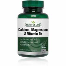 Natures Aid Calcium, Magnesium & Vitamin D3 90 TABS