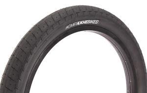 "KHE BMX Bike Tyre ACME, 20"" x 2.40"", Black-Black Sidewall"