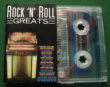 Rock n Roll Greats Frankie Lymon Bobby Vee Gene Vincent + Cassette Tape - TESTED