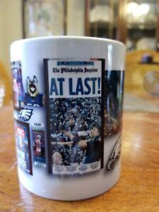 philadelphia eagles super bowl champs coffee cup