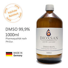 DIOXSAN DMSO 99,9% nach Ph. Eur. ? MADE IN GERMANY ? reines Dimethylsulfoxid