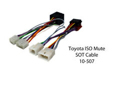 10-507 TOYOTA COROLLA E11 FACELIFT 2000 to 2002 ISO MUTE SOT CABLE ADAPTOR LEAD