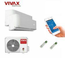 VIVAX Multisplit Klimaanlage R-Design Klimagerät 2 x 2,6 KW Duo WIFI  R32 A++
