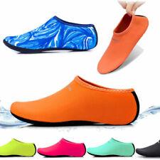 2PCS женские мужские кожа туфли Aqua воды пляжа Носки для йоги упражнения бассейна, плавательное скольжения